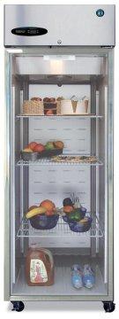 Freezer, Single Section Upright, Full Glass Door Product Image