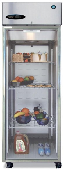 Freezer, Single Section Upright, Full Glass Door