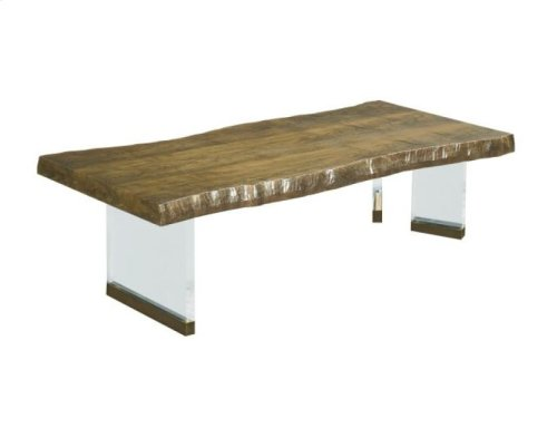 Brevard Live Edge Cocktail Table