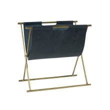 Brass Liliane Magazine Holder