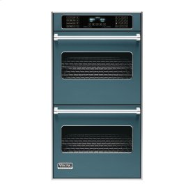 "Iridescent Blue 27"" Double Electric Touch Control Premiere Oven - VEDO (27"" Wide Double Electric Touch Control Premiere Oven)"