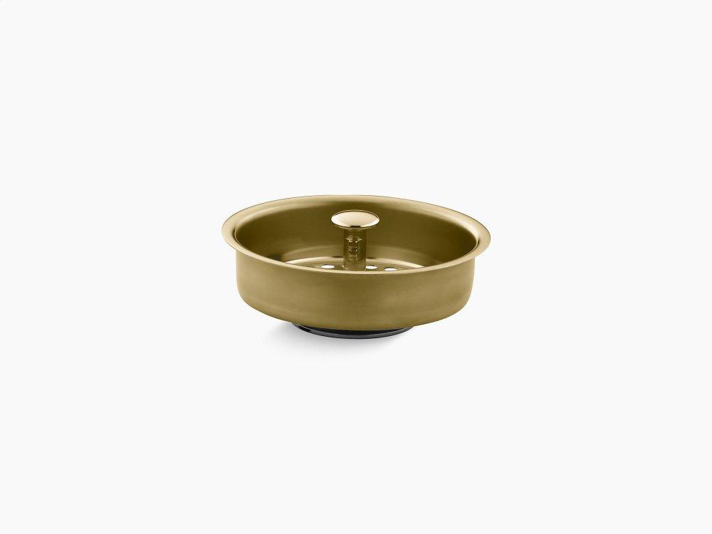 Vibrant Polished Brass Sink Strainer Basket Studio41