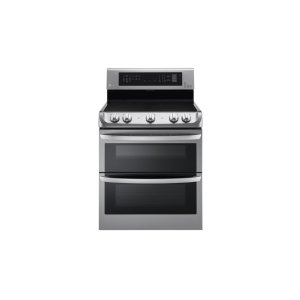 LG Appliances7.3 cu. ft. Electric Double Oven Range with ProBake Convection(R), EasyClean(R)