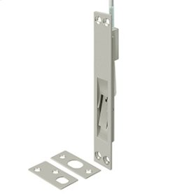 """12"""", 18"""", 24"""" and 39"""" Extension Flush Bolt, Solid Brass - Brushed Nickel"""