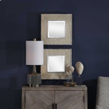 Cambay Square Mirrors, S/2