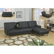 F7843 / Cat.19.p55- ADJUSTABLE CHAISE BLK MW F7842