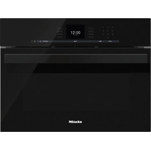 MieleDGC 6600-1 Steam oven with full-fledged oven function and XL cavity combines two cooking techniques - steam and convection.