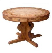 """60"""" Round Marble Table Product Image"""