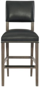 Moore Leather Counter Stool in Portobello Product Image