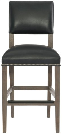Moore Leather Counter Stool in Portobello