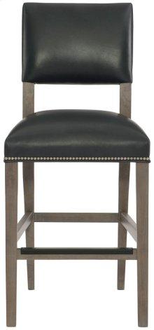 Moore Leather Counter Stool in Portobello