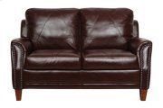 Austin Luke Leather Loveseat Product Image