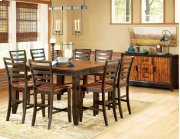 """Abaco Counter Table, 54""""x36""""x 54"""" w/18"""" Butterfly Leaf Product Image"""