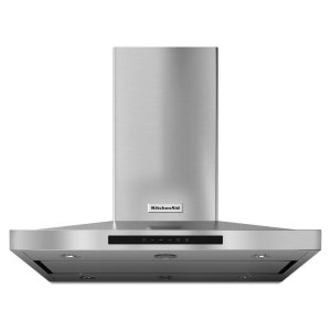 "KITCHENAID36"" Island-Mount, 3-Speed Canopy Hood - Stainless Steel"