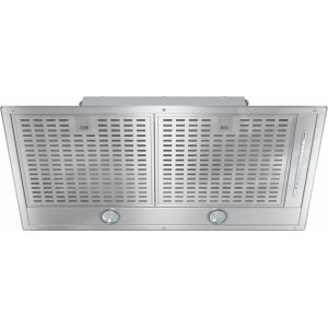 MieleDA 2588 Insert ventilation hood with energy-efficient LED lighting and backlit controls for easy use.