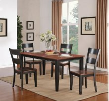 5 Piece Dining - Dining Table and Four Side Chairs