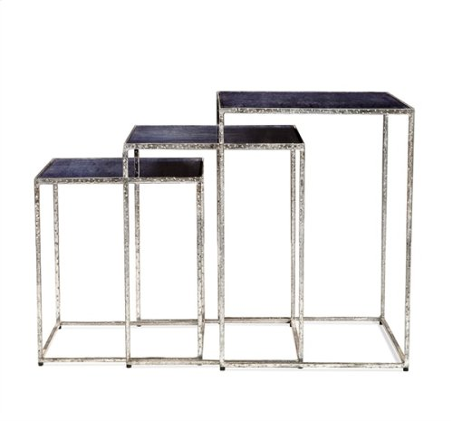 Maci Rectangular Nesting Tables - Cobalt