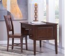 2-Drw Executive Desk Espresso Product Image