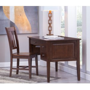 JOHN THOMAS FURNITURE2-Drw Executive Desk Espresso
