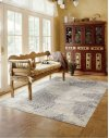 UTOPIA UTP02 CHAMPAGNE RECTANGLE RUG 7'9'' x 10'10''
