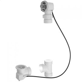 PVC Bath Waste and Overflow Subassembly