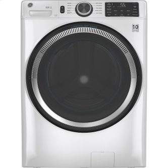 GE™ 5.5 cu. ft. (IEC) Capacity Washer with Built-In Wifi White - GFW550SMNWW