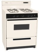 """Deluxe Bisque Gas Range In 30"""" Width With Electronic Ignition, Digital Clock/timer, and Oven Door With Light; Replaces Stm2307kw Product Image"""