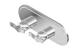 Lauren M-Series Valve Horizontal Trim with Two Handles