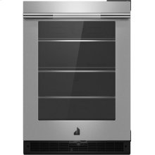 "RISE™ 24"" Under Counter Glass Door Refrigerator, Left Swing, RISE"