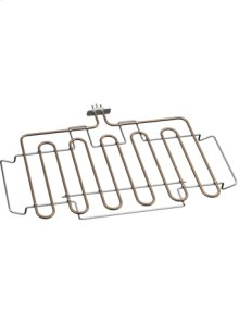 Heating element for baking stone and cast-iron roaster