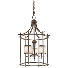 Tallie Collection Tallie Large Foyer Pendant 3 Light MIZ
