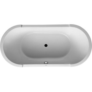 White Starck Tubs/shower Trays Bathtub