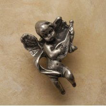 Cherub with Mandolin Knob