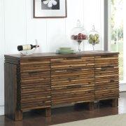 Modern Gatherings - Sideboard - Brushed Acacia Finish Product Image