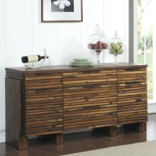 Modern Gatherings - Sideboard - Brushed Acacia Finish