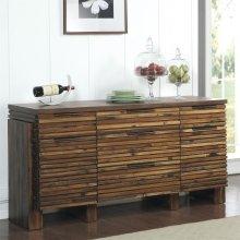 Modern Gatherings - Sideboard - Brushed Acacia Finish