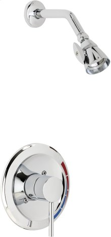 Pressure Balancing Shower Valve with Shower Head