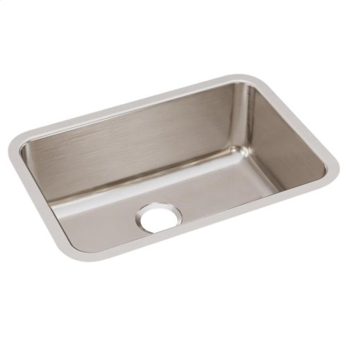 "Elkay Lustertone Classic Stainless Steel 26-1/2"" x 18-1/2"" x 10"", Single Bowl Undermount Sink"