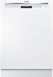 "800 Series 24"" Recessed Handle Dishwasher 800 Series- White SHEM78W52N"