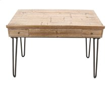 Natural Wood Writing Desk, Kd