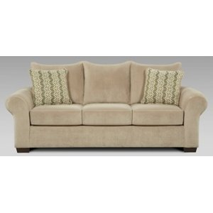 Chevron Mink Sofa and Loveseat Set