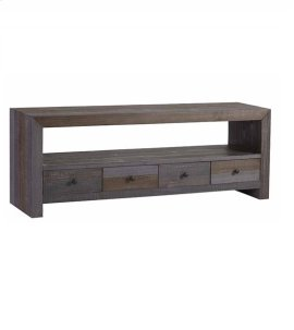 Low Console - Autumn Gray Finish