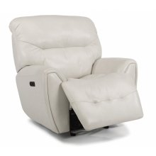Blaise Leather Power Gliding Recliner with Power Headrest