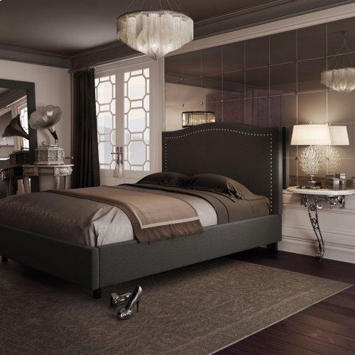 Elegance Upholstered Bed - King