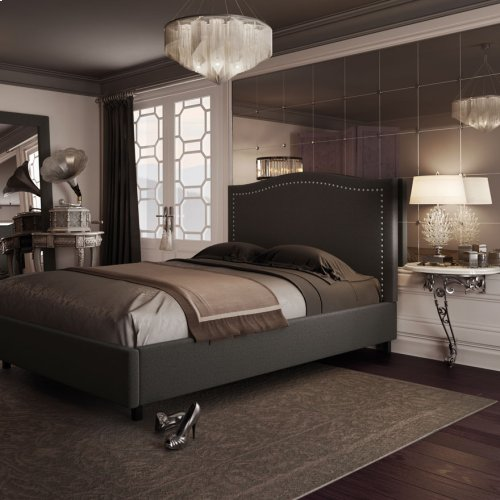 Elegance Upholstered Bed - Queen