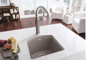 Blanco Artona Bar Faucet - Metallic Gray