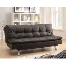 Dilleston Contemporary Brown Sofa Bed