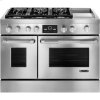 JENN-AIR Pro-Style(r) Dual-Fuel Range With Griddle And Multimode(r) Convection, 48""