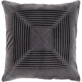 """Akira AKA-004 18"""" x 18"""" Pillow Shell with Polyester Insert"""