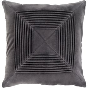 "Akira AKA-004 18"" x 18"" Pillow Shell with Polyester Insert"